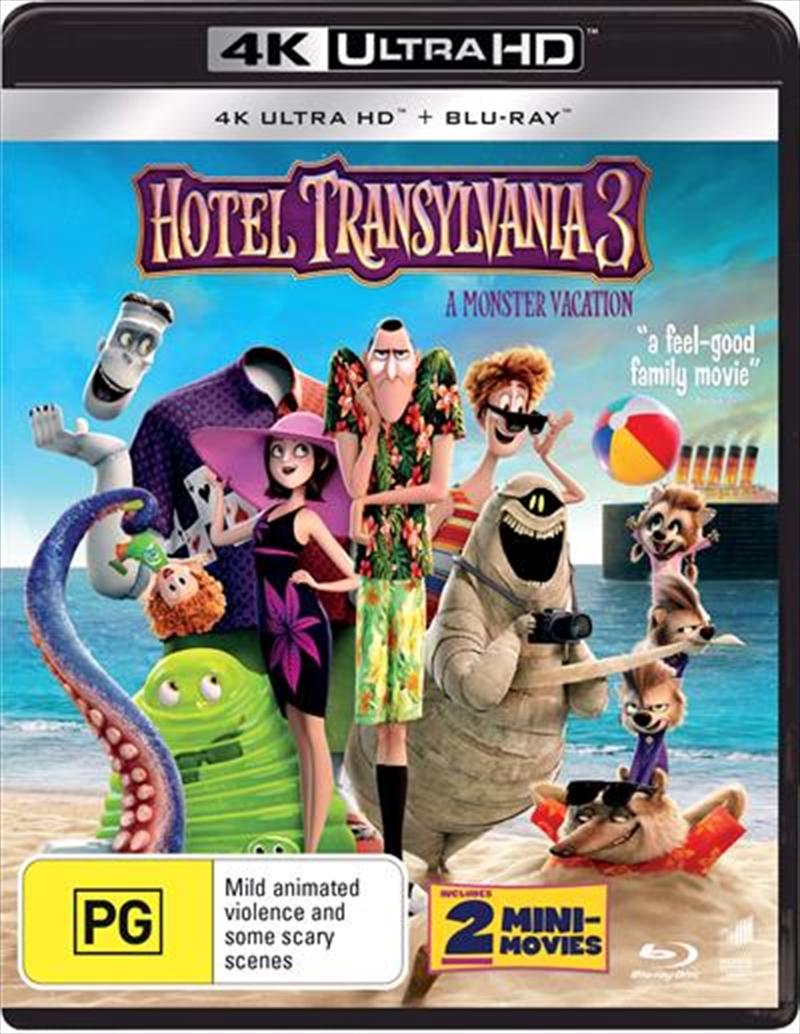 Hotel Transylvania 3 - A Monster Vacation | Blu-ray + UHD | UHD