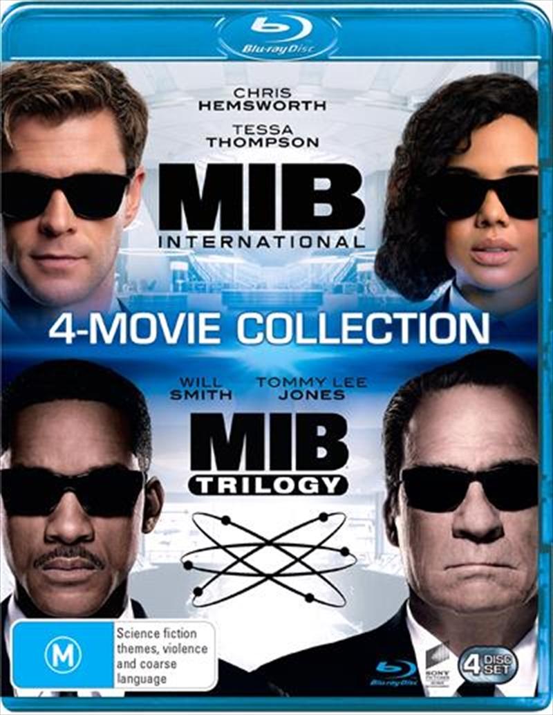Men In Black / Men In Black II / Men In Black 3 / Men In Black - International   Franchise Pack   Blu-ray