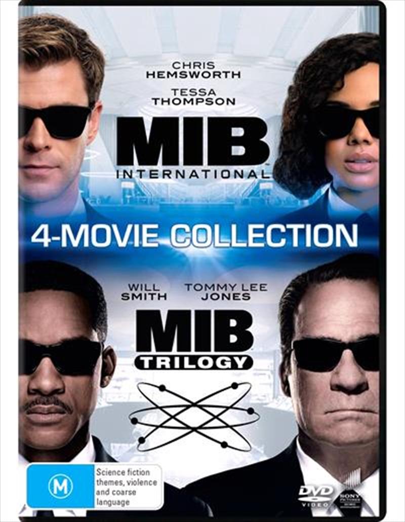 Men In Black / Men In Black II / Men In Black 3 / Men In Black - International | Franchise Pack | DVD