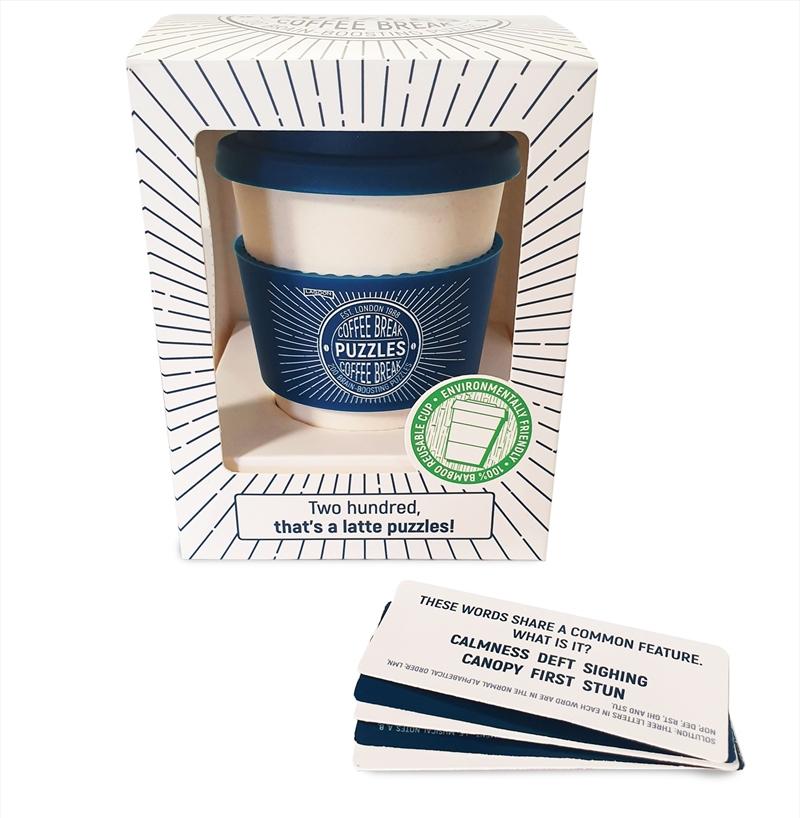 Coffee Break Puzzles Eco Mug   Merchandise