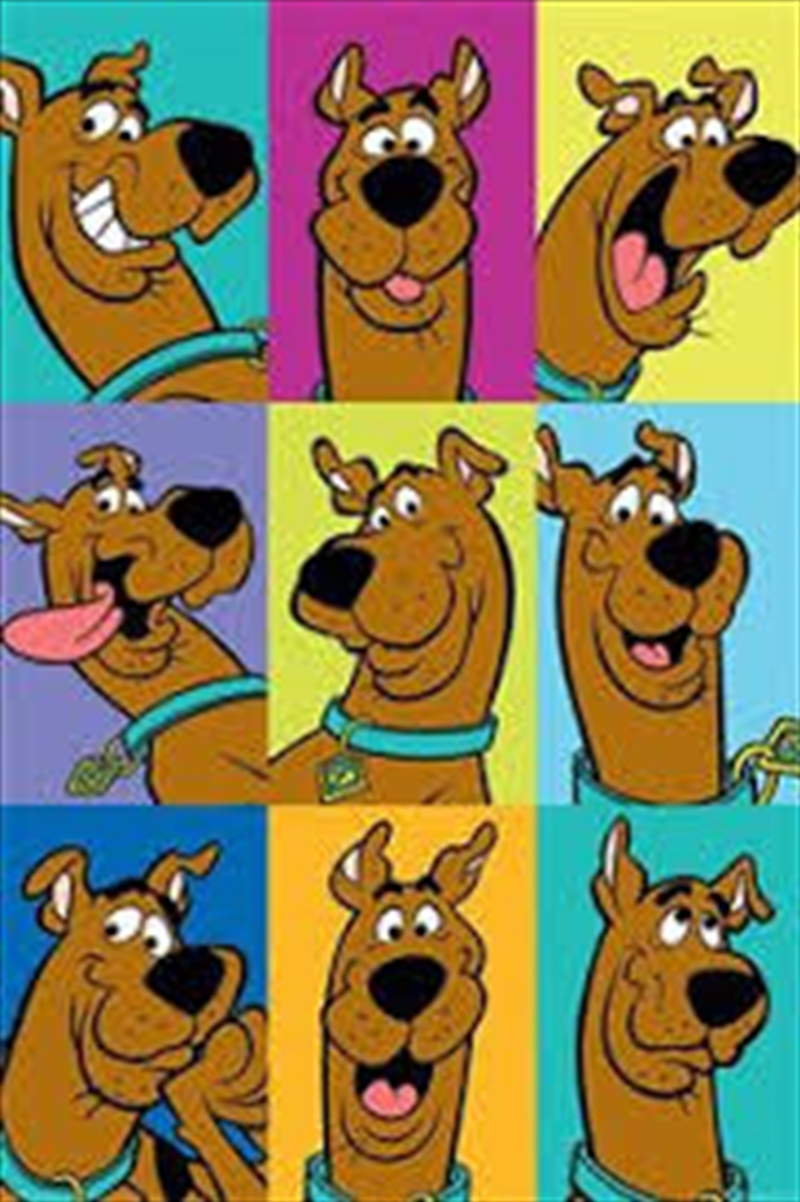 Scooby Doo Many Faces Poster | Merchandise