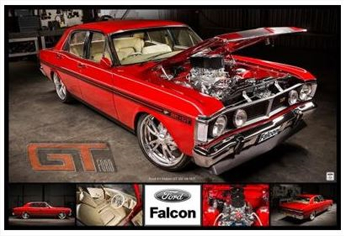Ford Falcon Poster   Merchandise