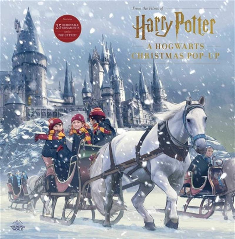 A Hogwarts Christmas Pop Up Advent Calendar   Hardback Book