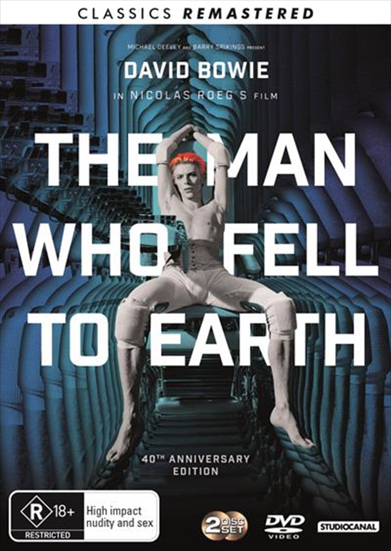 Man Who Fell To Earth - 40th Anniversary Edition - Remastered, The | DVD