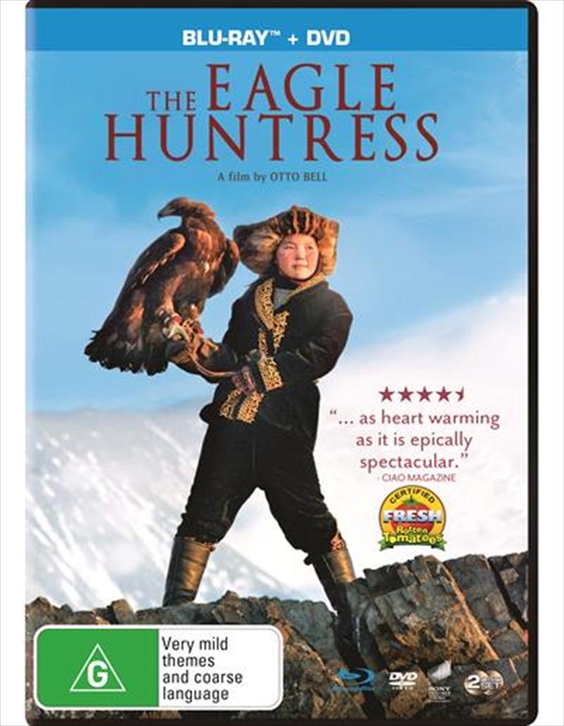 Eagle Huntress | Blu-ray + DVD, The | Blu-ray/DVD