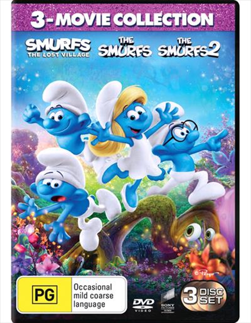 Smurfs / The Smurfs 2 / Smurfs - The Lost Village | Franchise Pack, The | DVD