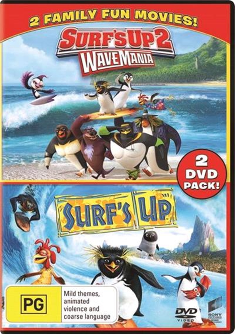 Surf's Up / Surf's Up 2 - Wave Mania   Franchise Pack   DVD