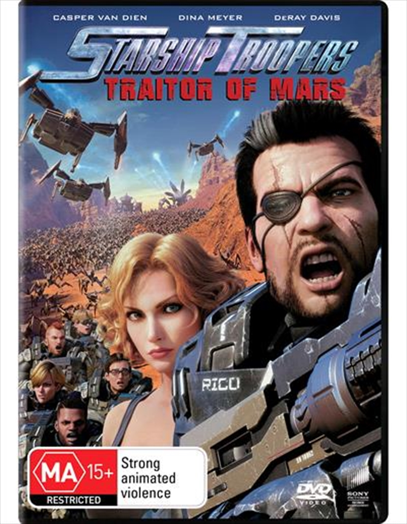 Starship Troopers - Traitor Of Mars | DVD