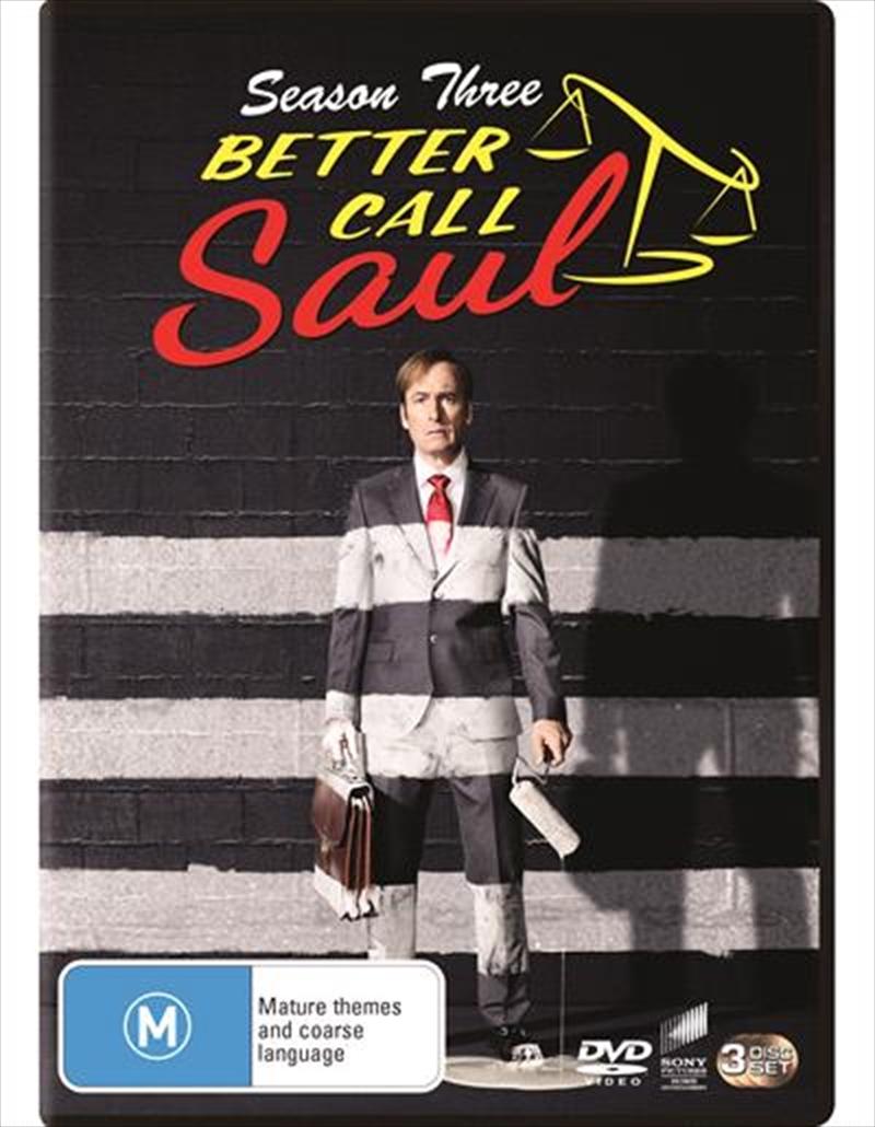 Better Call Saul - Season 3 | DVD