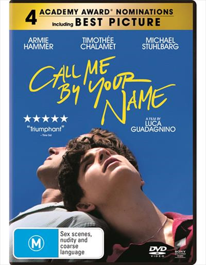 Call Me By Your Name | DVD