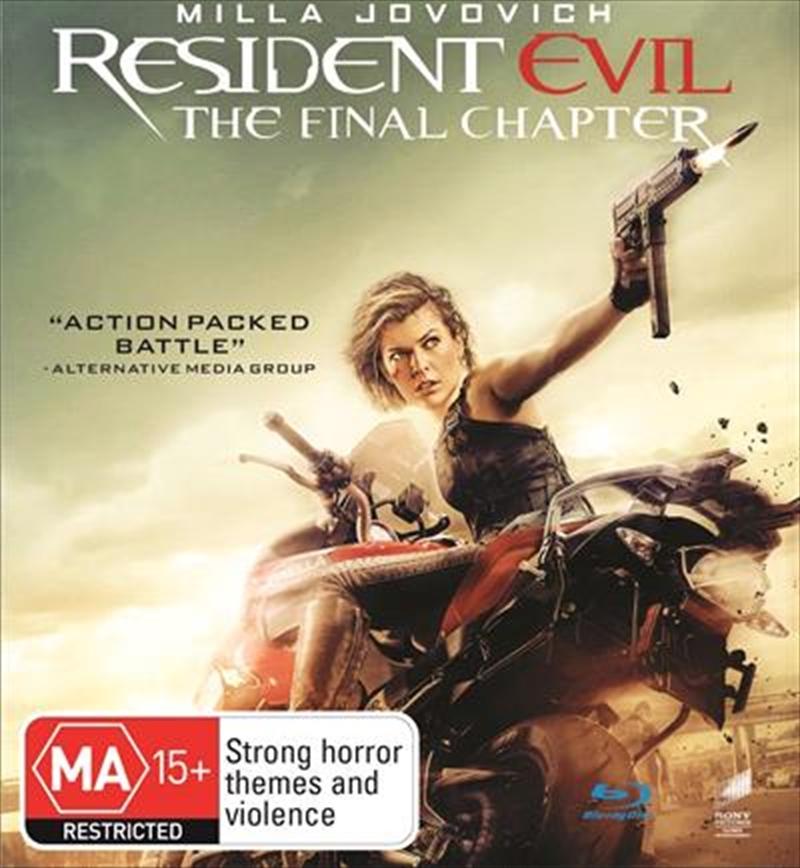 Resident Evil - The Final Chapter | Blu-ray