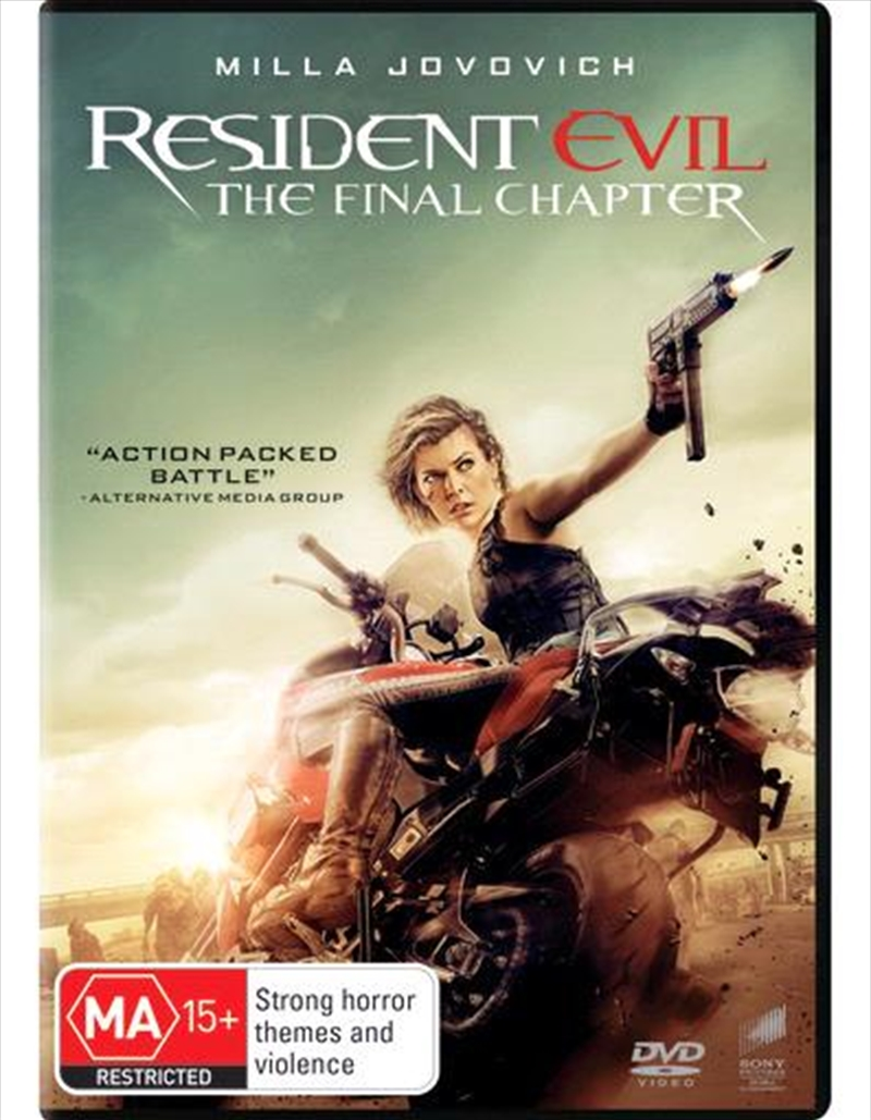 Resident Evil - The Final Chapter | DVD