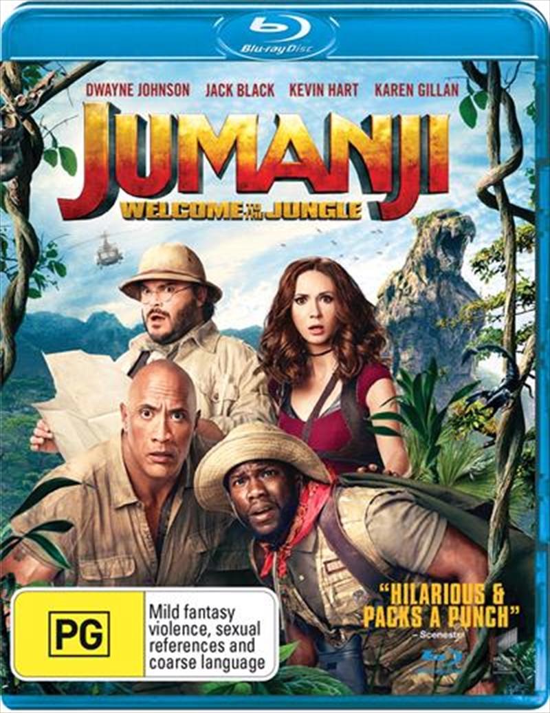 Jumanji - Welcome To The Jungle | Blu-ray