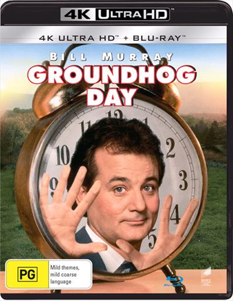 Groundhog Day | Blu-ray + UHD | Blu-ray/Digital/Hd