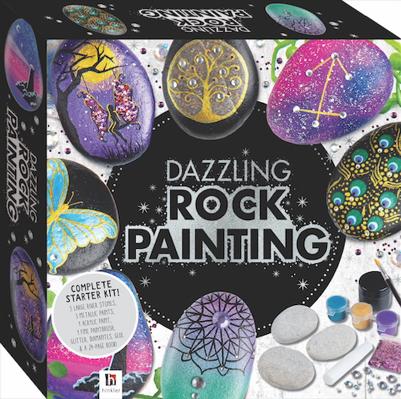 Dazzling Rock Painting | Merchandise