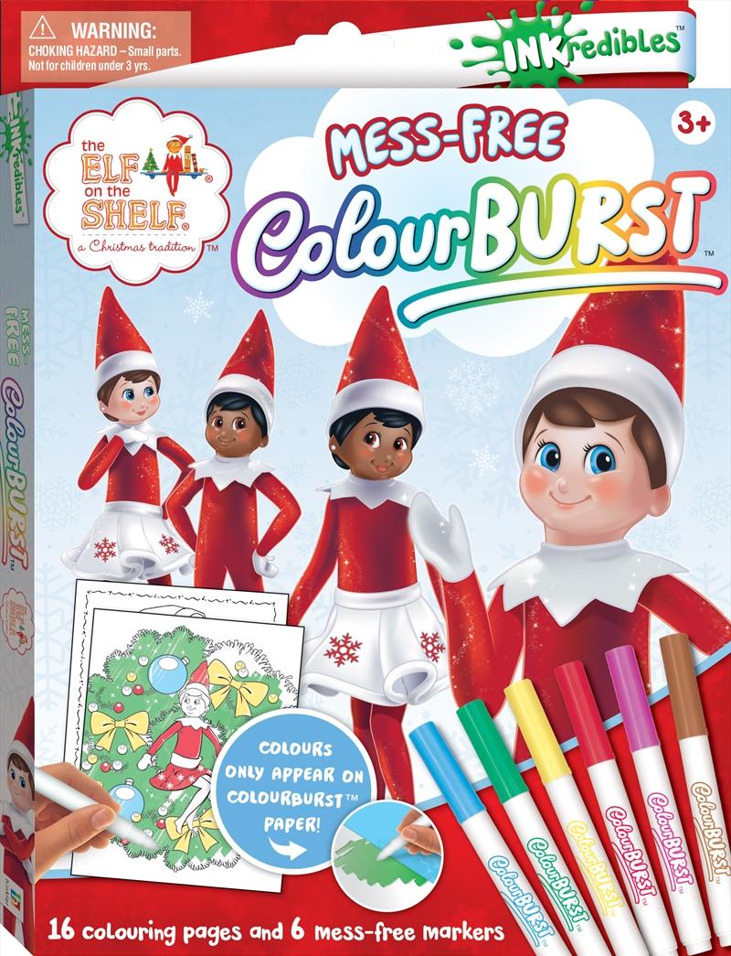 Inkredibles: Elf On the Shelf Colour Burst | Merchandise