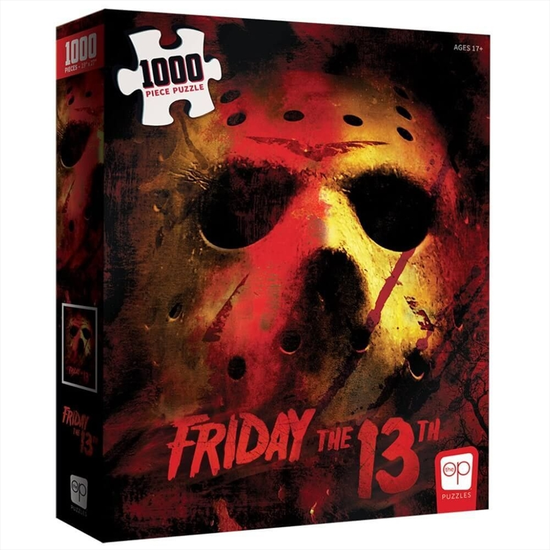 Friday The 13th 1000 Piece Puzzle   Merchandise