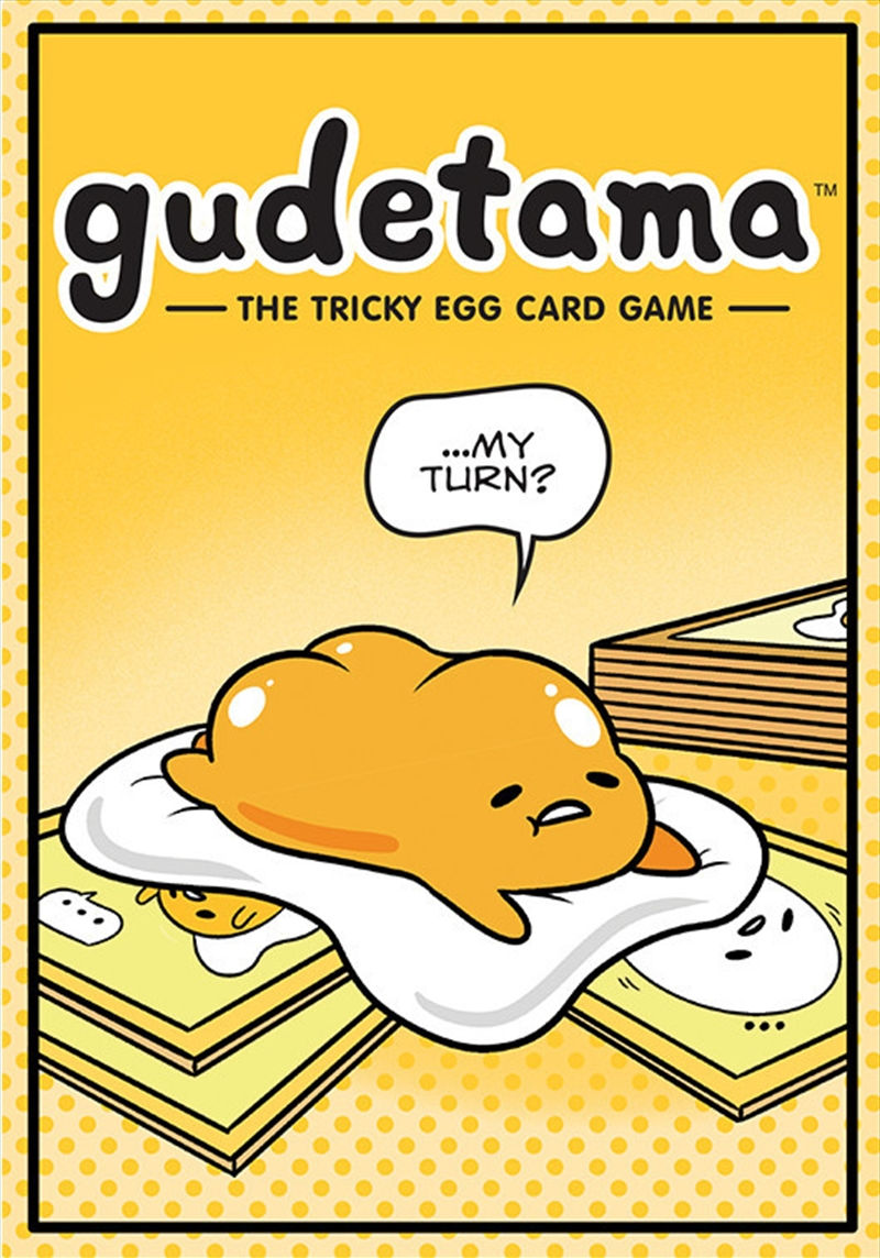 Gudetama: The Tricky Egg Game | Merchandise