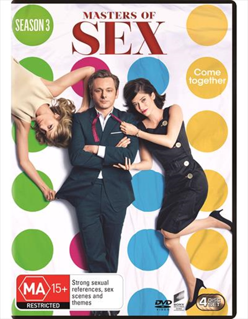 Masters Of Sex - Season 3 | DVD