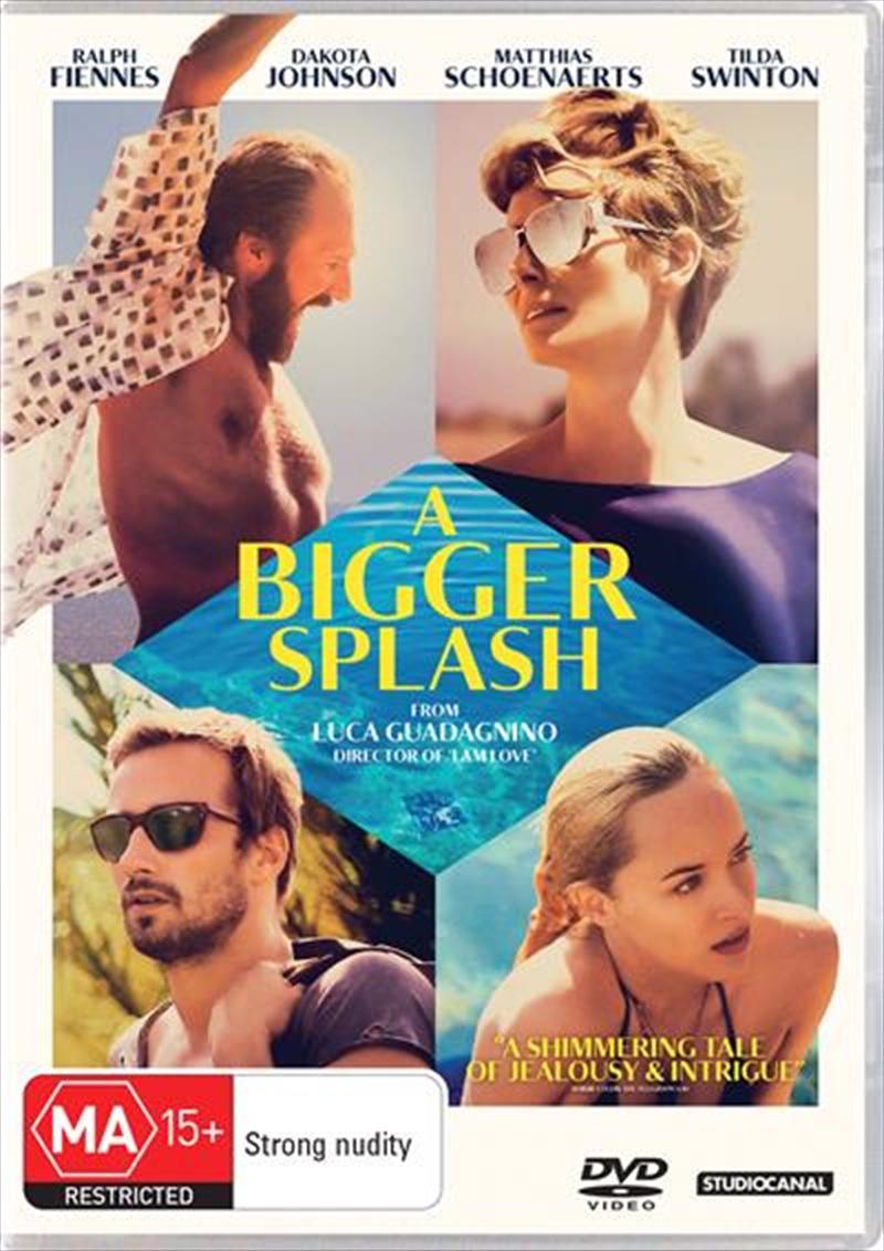 A Bigger Splash | DVD