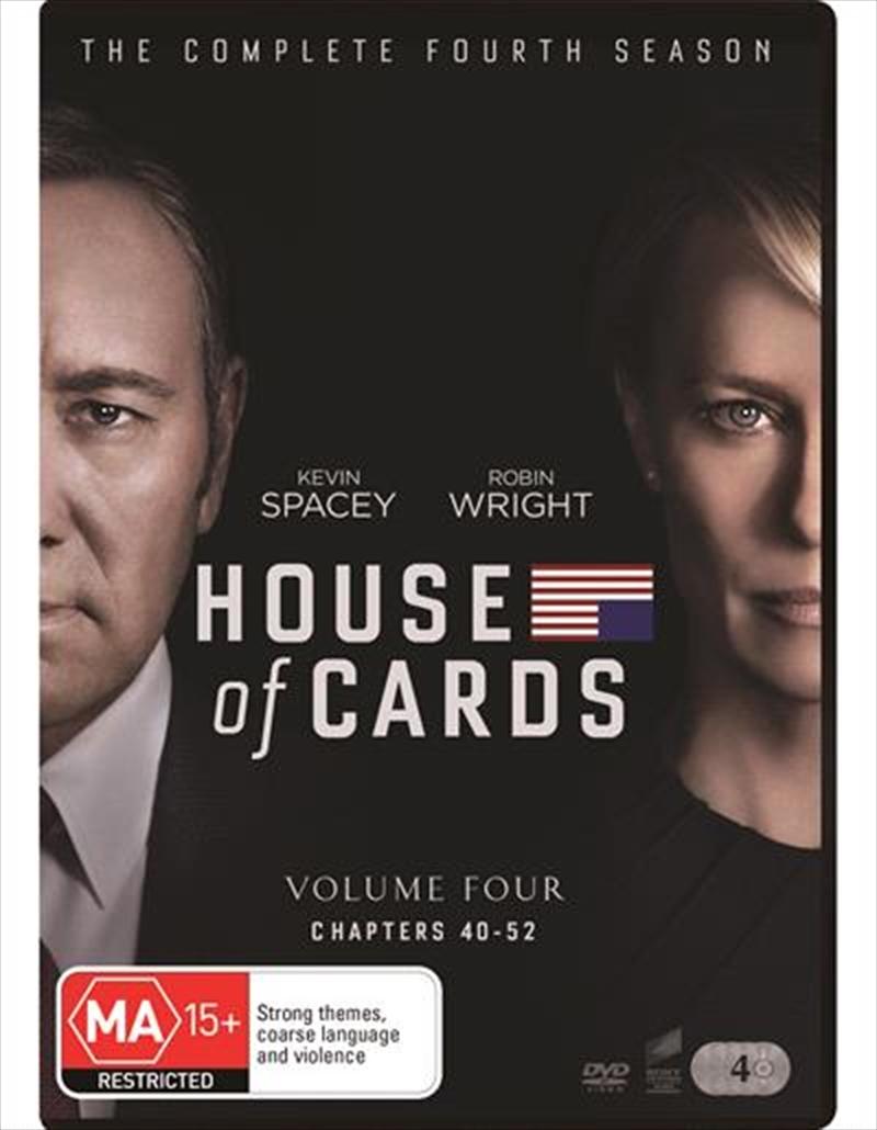 House Of Cards - Season 4 | DVD