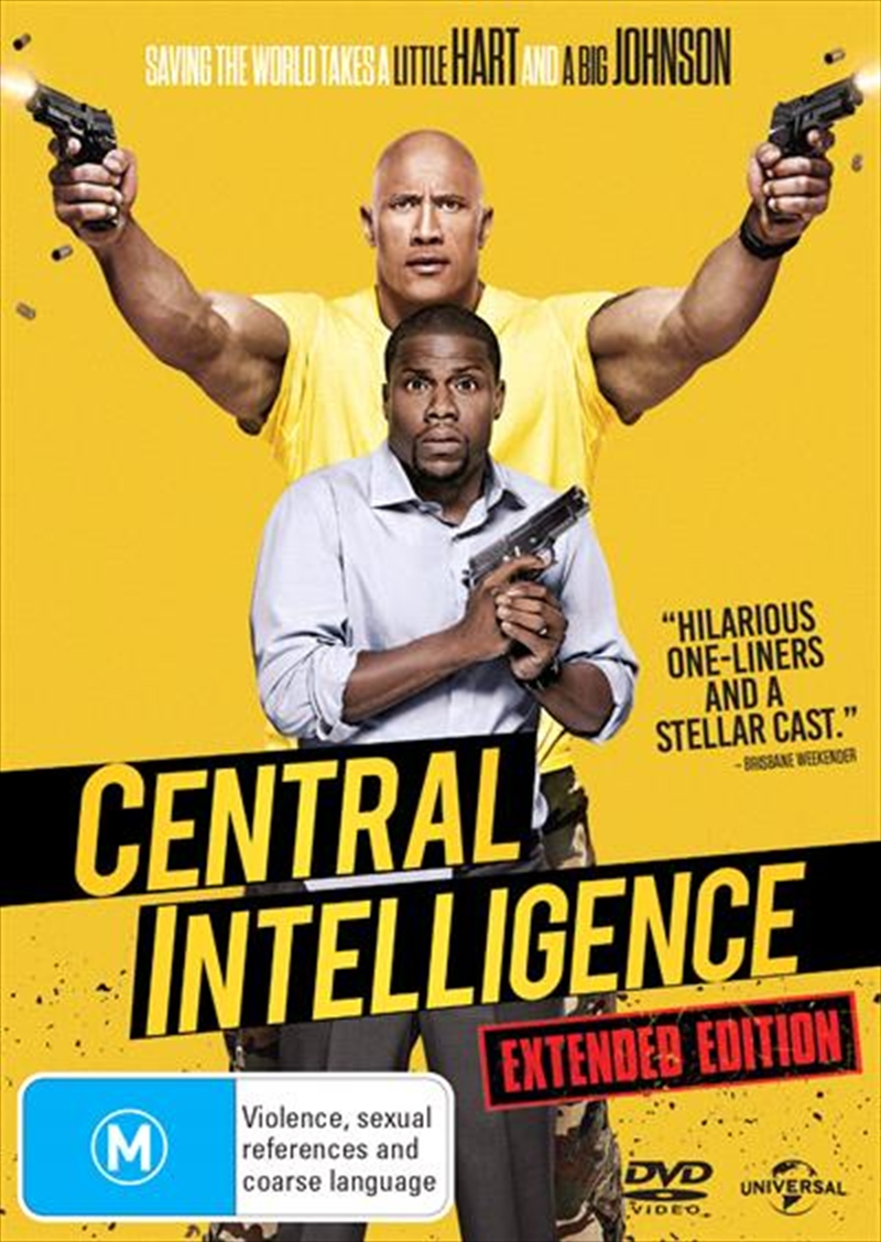 Central Intelligence | DVD