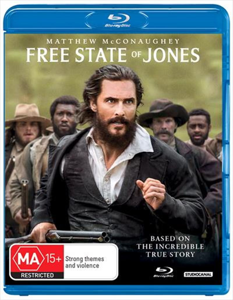 Free State Of Jones | Blu-ray