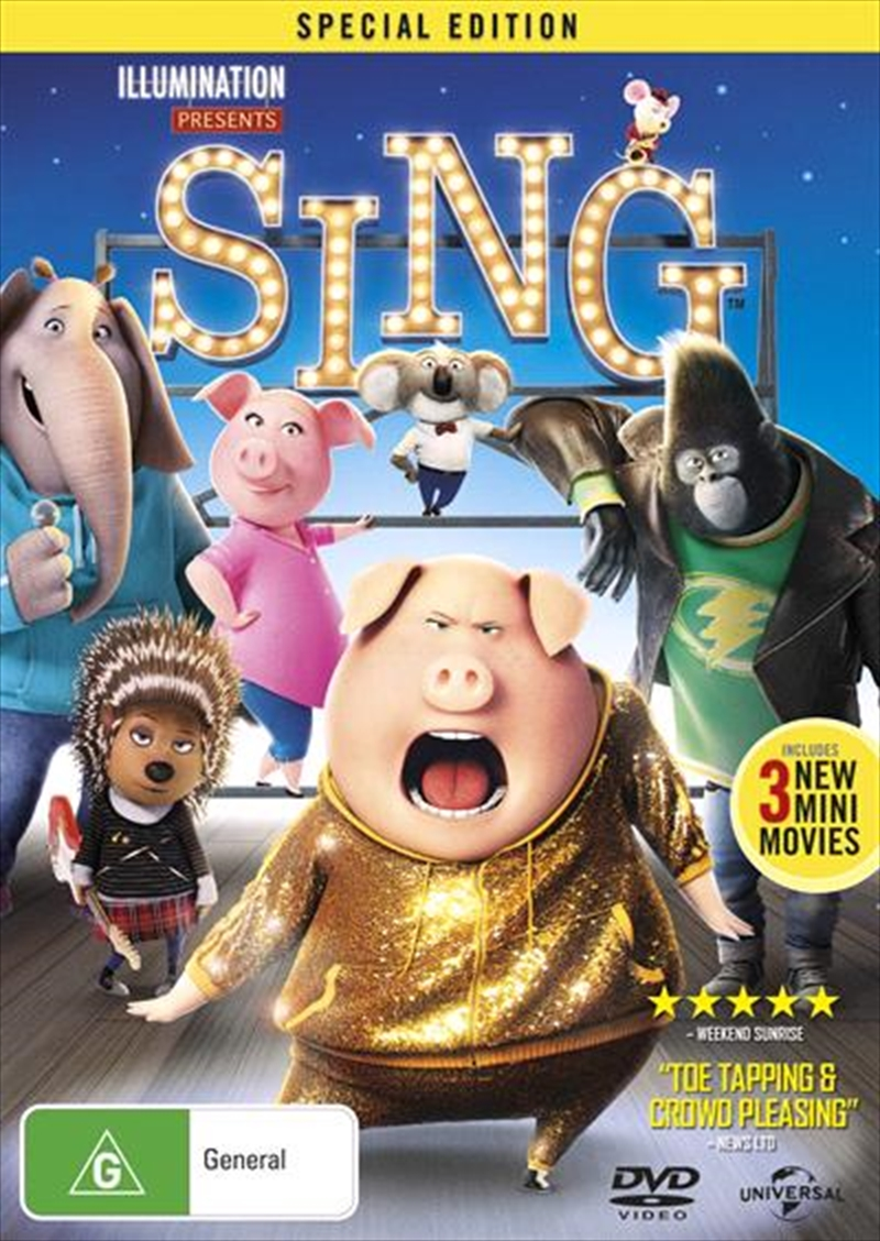 Sing - Special Edition | DVD