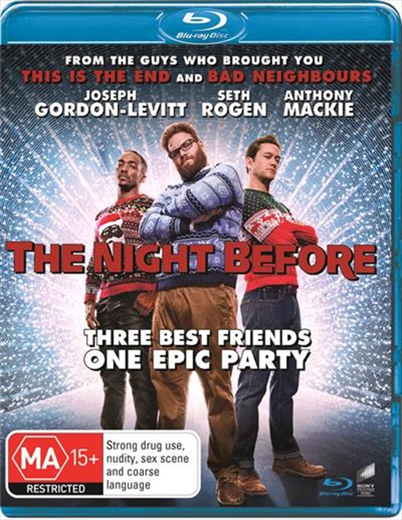 Night Before, The | Blu-ray