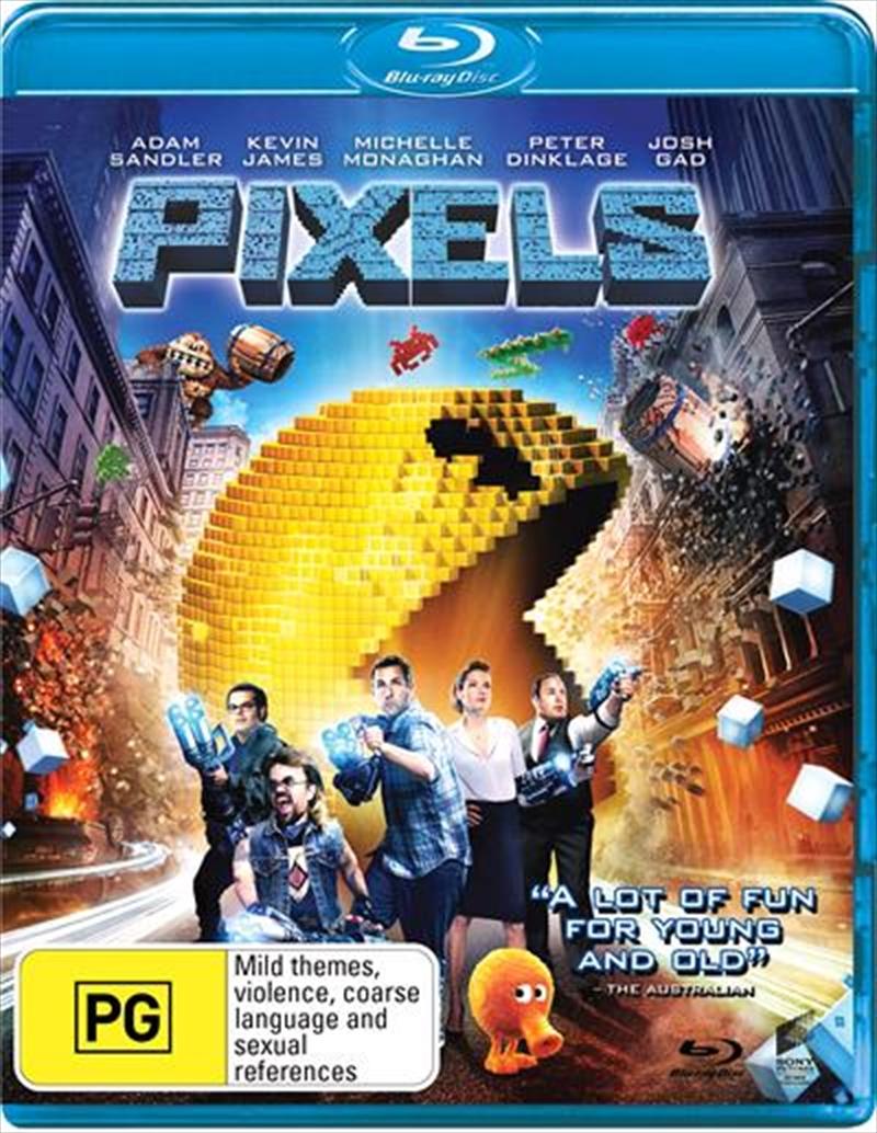 Pixels | Blu-ray