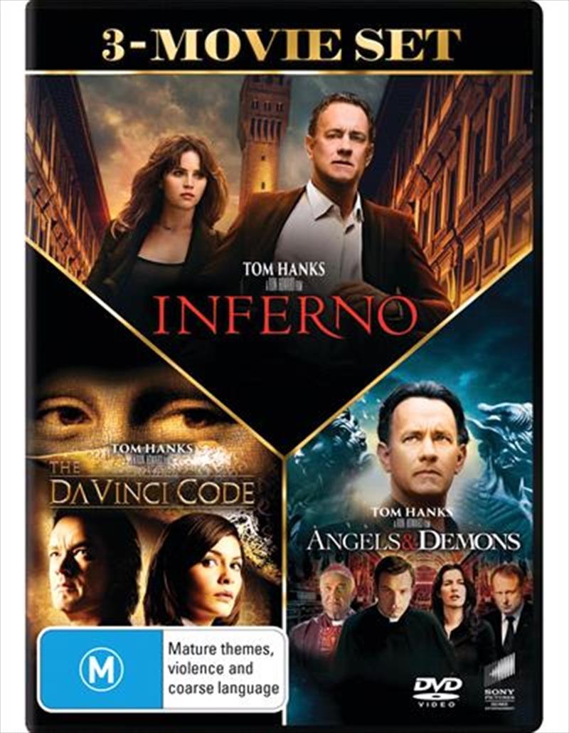 Da Vinci Code / Angels and Demons / Inferno | Triple Pack | DVD