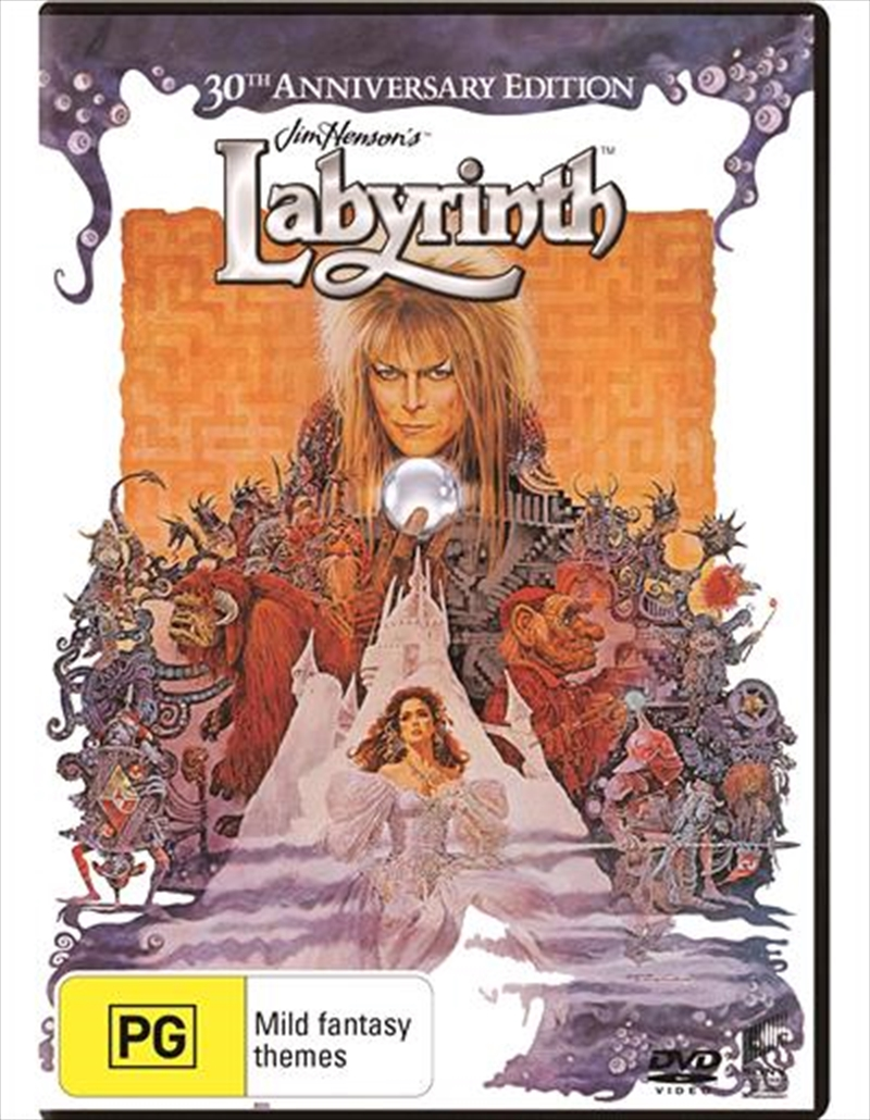 Labyrinth - 30th Anniversary Edition | DVD