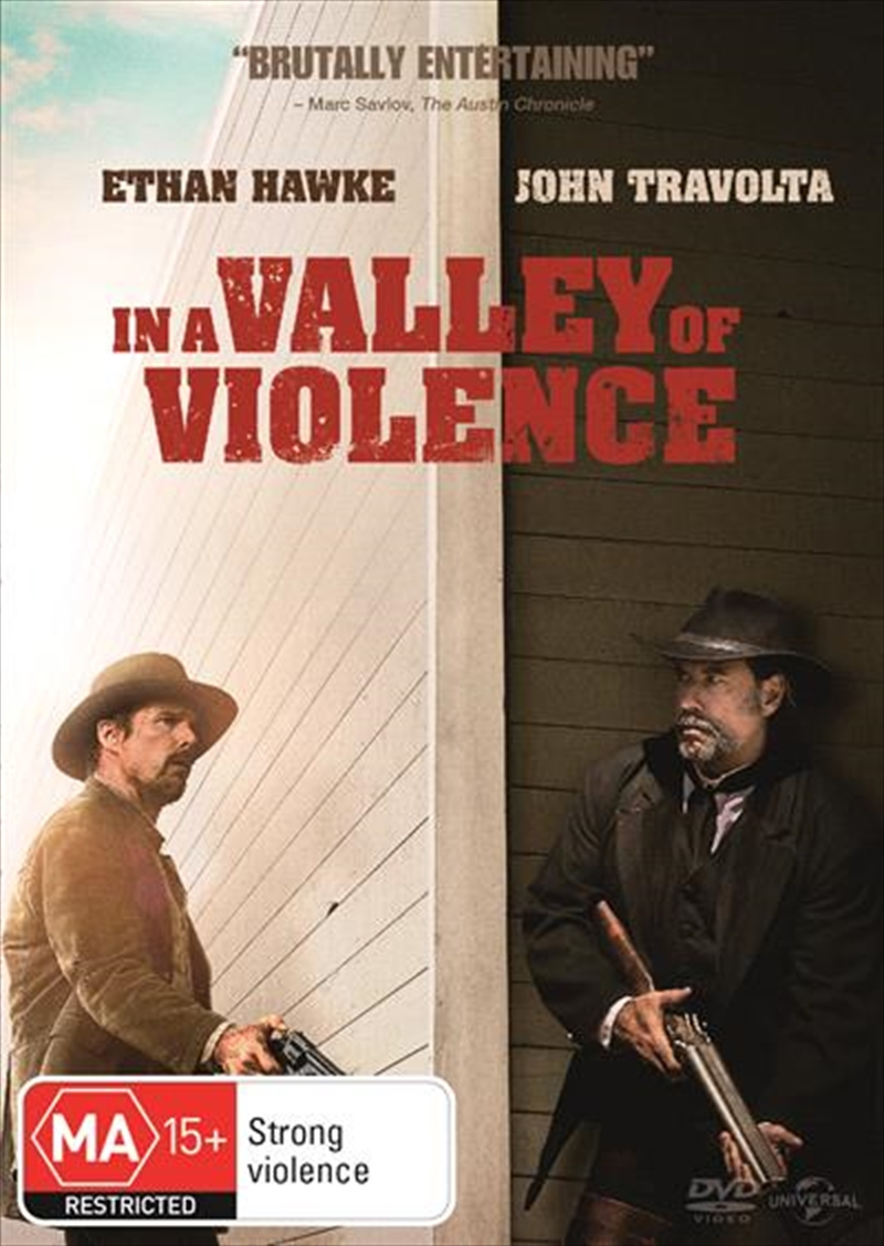 In A Valley Of Violence | DVD