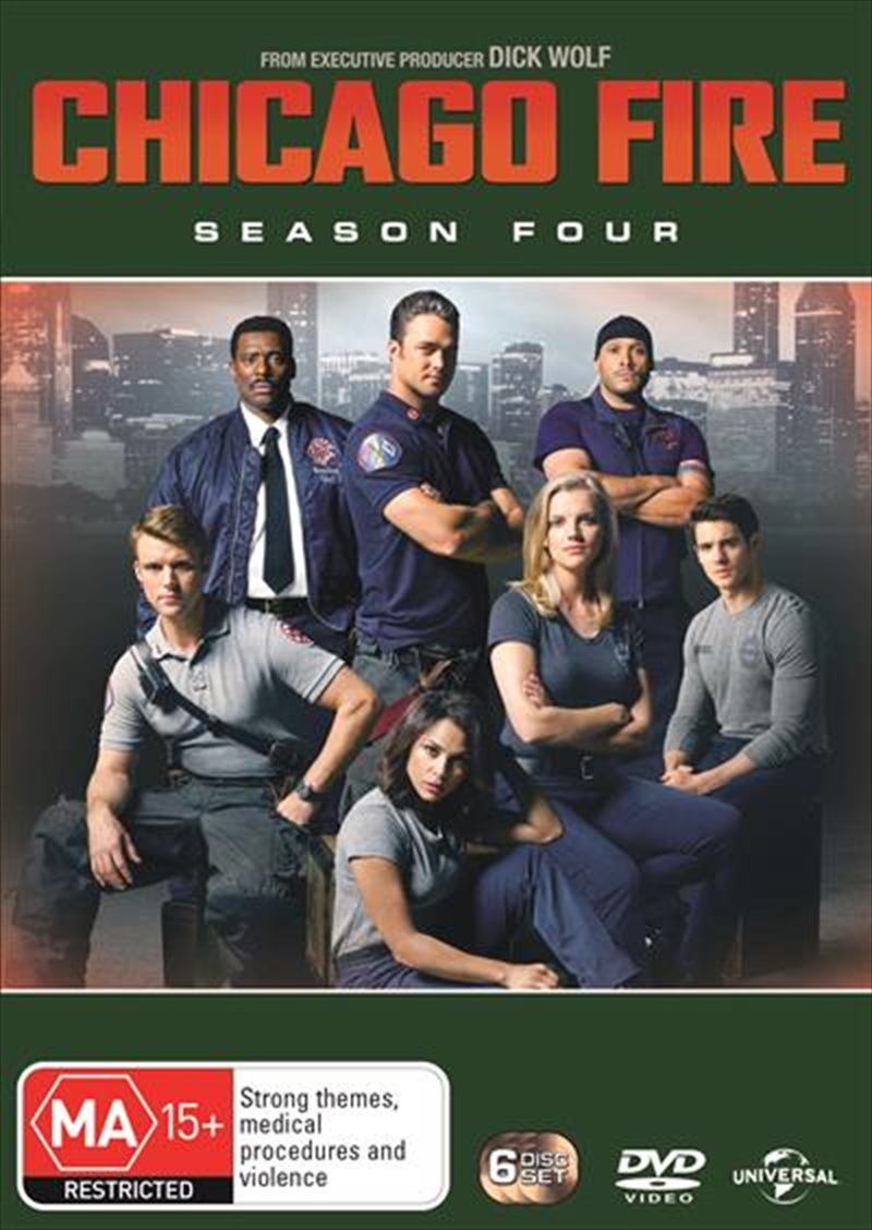 Chicago Fire - Season 4 | DVD
