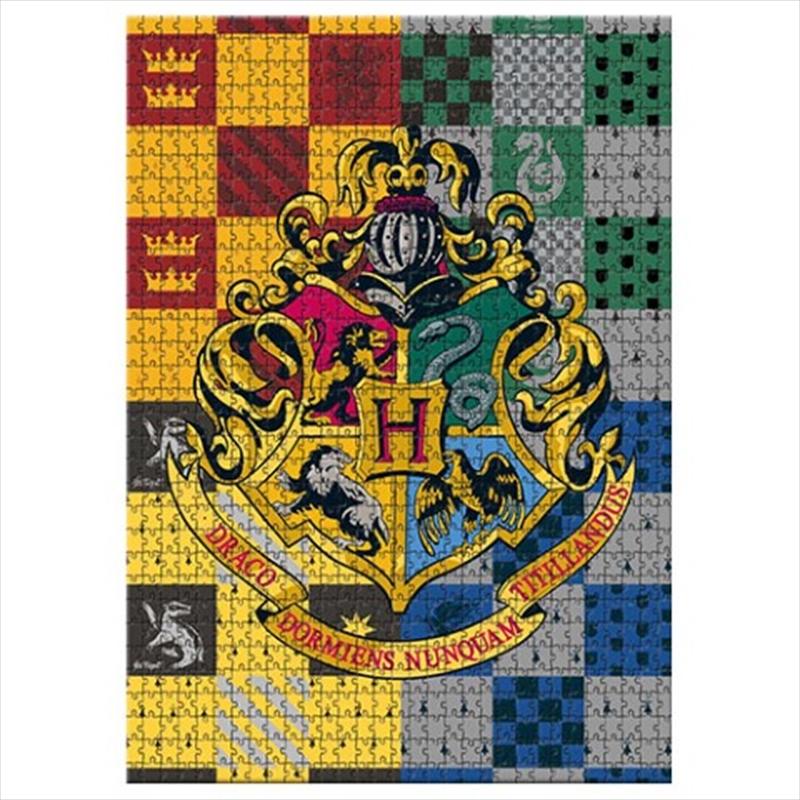 Harry Potter Crest 1000 Piece Puzzle | Merchandise
