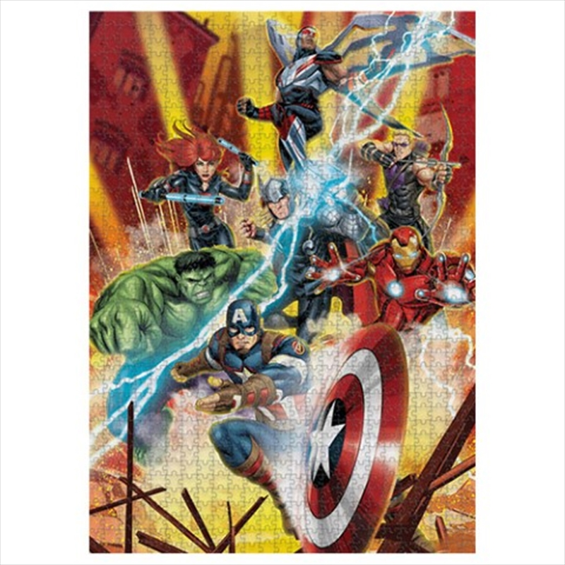 Marvel Group Puzzle | Merchandise