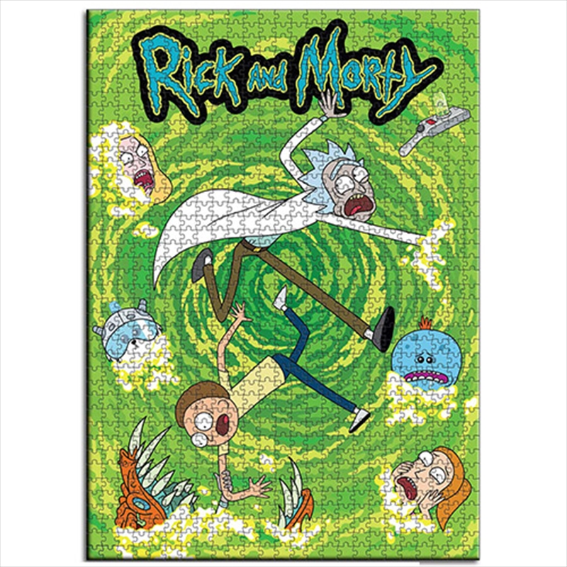 Rick And Morty 1000 Piece Puzzle | Merchandise