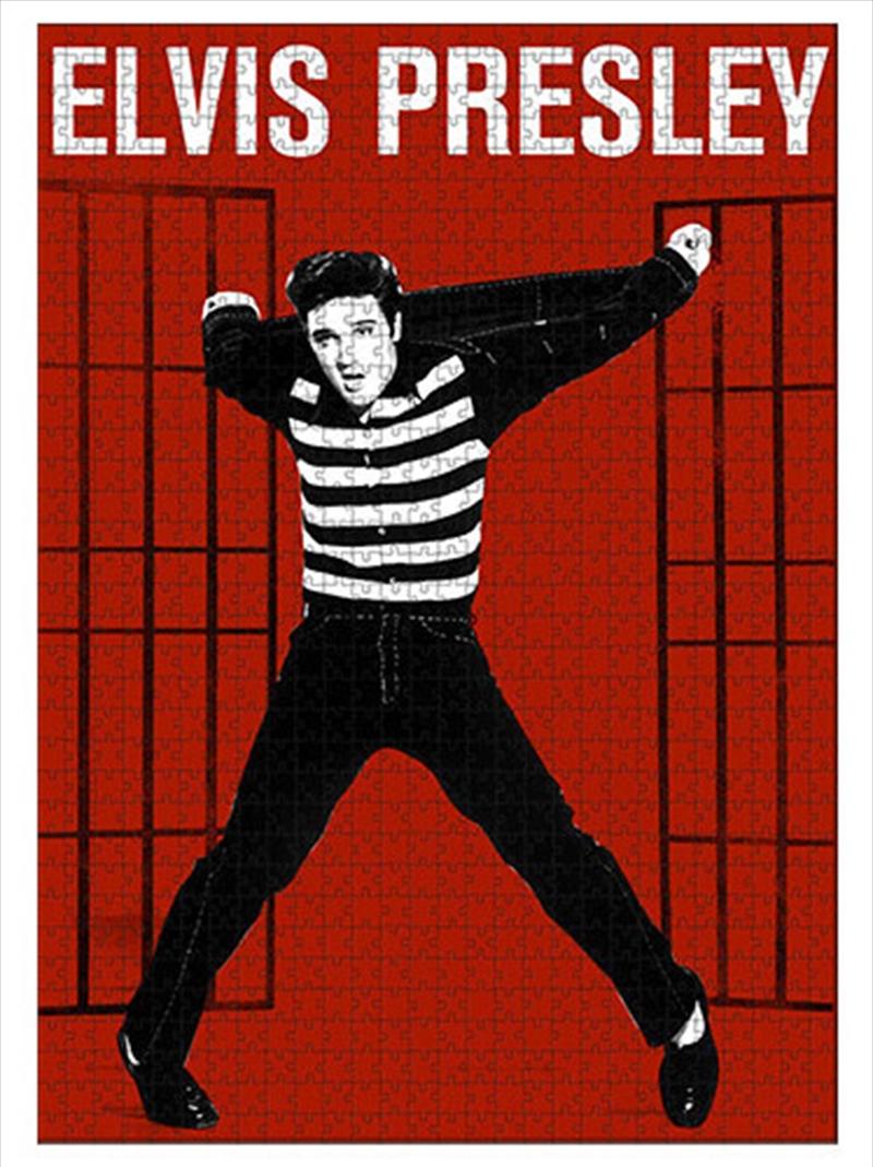 Elvis Presley Album 1000 Piece Puzzle   Merchandise