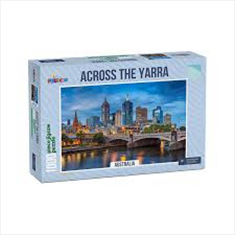 Across The Yarra Australia 1000 Piece Puzzle   Merchandise