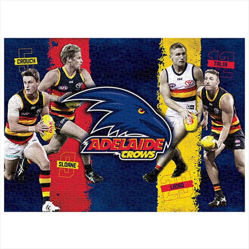 Adelaide Crows 4 Player 1000 Piece Puzzle | Merchandise