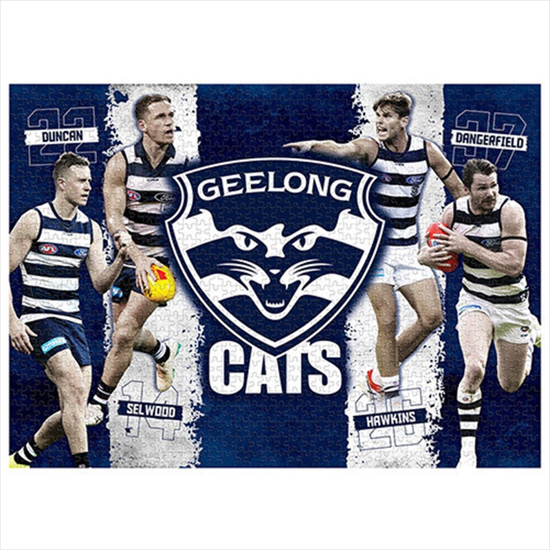 Geelong Cats 4 Player 1000 Piece Puzzle | Merchandise