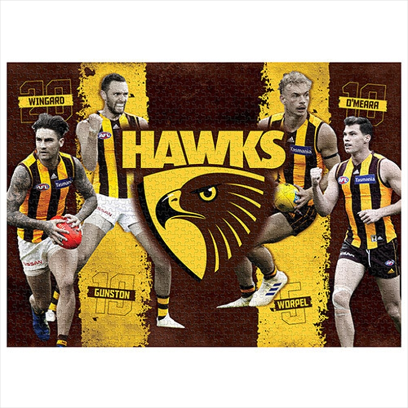 Hawthorn Hawks 4 Player 1000 Piece Puzzle | Merchandise