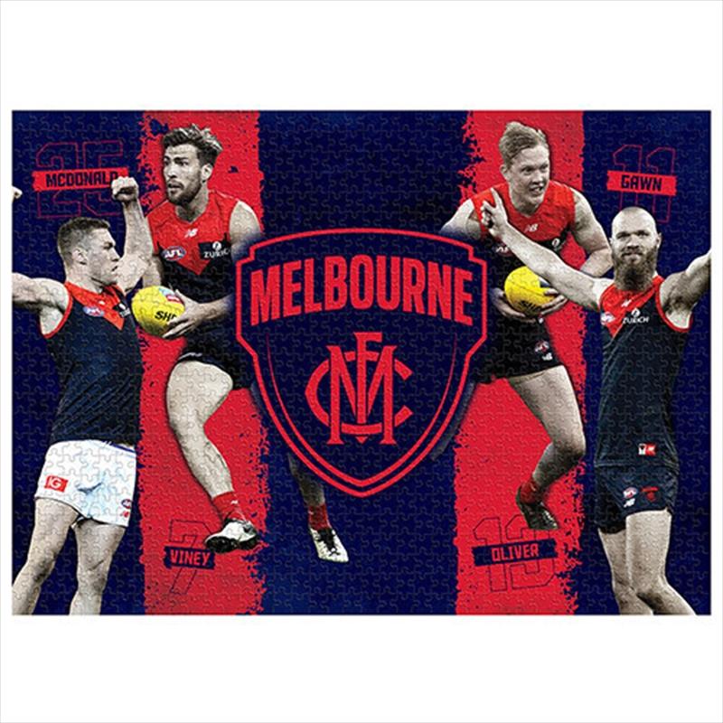 Melbourne Demons 4 Player 1000 Piece Puzzle   Merchandise