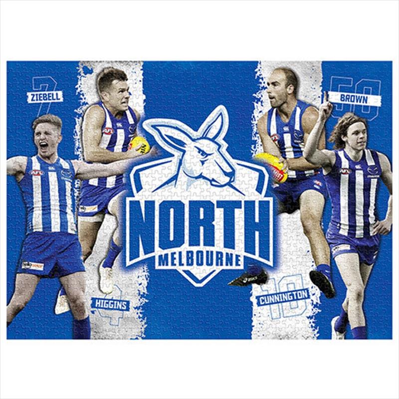 Nth Melbourne Kangaroos 4 Player 1000 Piece Puzzle | Merchandise