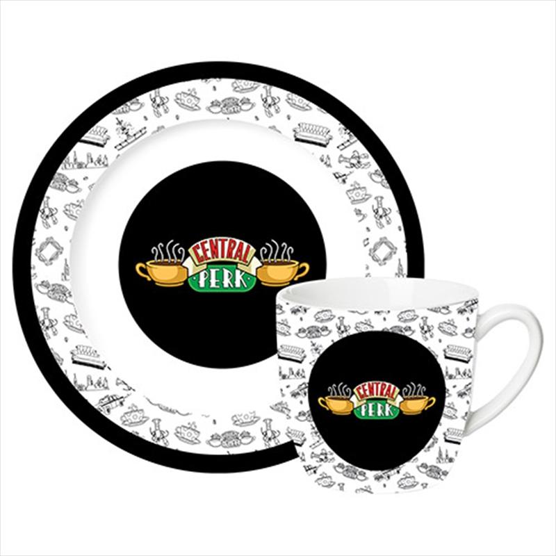 Friends Central Perk Mug And Saucer | Merchandise