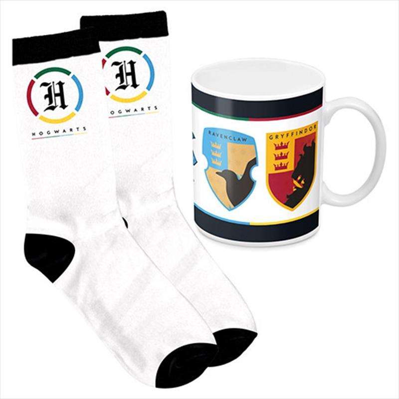 Harry Potter House Mug And Socks Gift Pack | Merchandise
