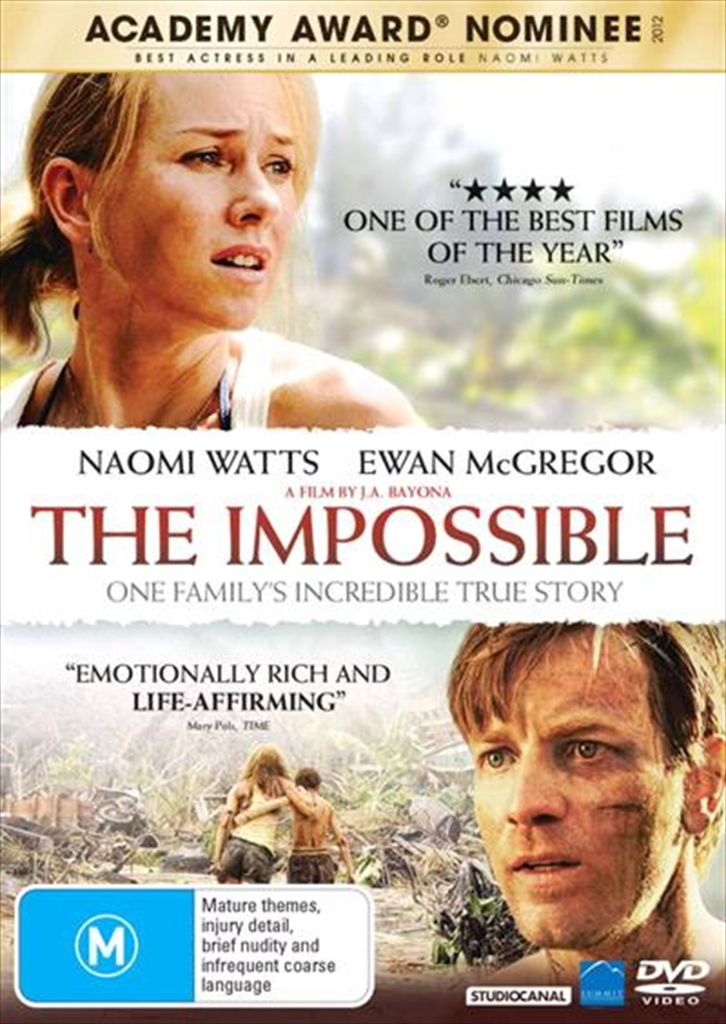 Impossible, The | DVD