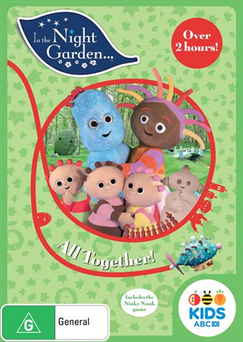 In The Night Garden - All Together | DVD