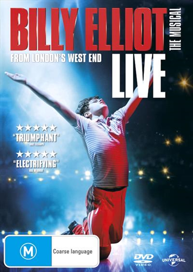 Billy Elliot The Musical | DVD