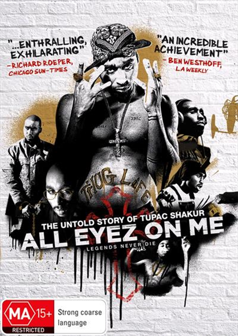 All Eyez On Me | DVD
